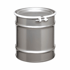 8 Gallon Open-Head Stainless Steel Drums