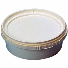 8 oz. Round IPL Retail Series Containers,500 Case Pack, No Lid