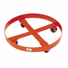 85-95 Gallon Drum Dollies,Steel Casters