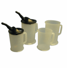 87 oz With Spout Heavy Duty Measuring Containers