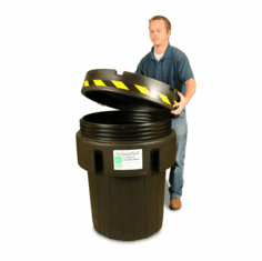 95 Gallon Plastic Ultra-Overpack Salvage Drums