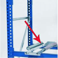 Accessories Drum Containment Rack Systems, Drum Roller Assembly
