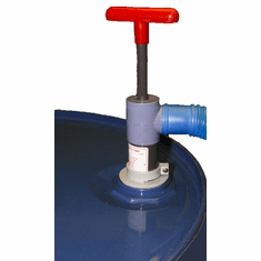 "Acid Stroke Pump - 2"" Nps 3' Hose Beckson Pvc Stroke Steel Drum Pump 