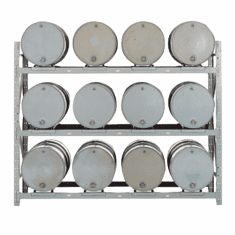 Add-On, 12-Drum - Convertible Drum Pallet Racks
