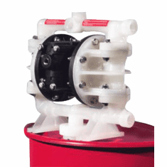Air-Operated Double Diaphragm Drum Pumps, Polypropylene/PTFE