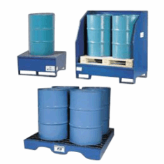 All-Steel Spill Containment Pallets