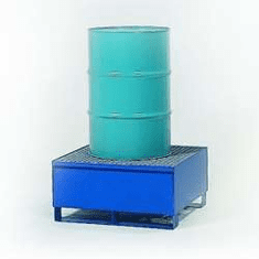All-Steel Spill Containment Pallets Standard, 1-drum  600 Capacity