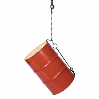 Alloy Steel Chain Sling Drum Lifter Grabs, Lifts, Places Drums