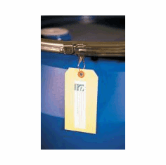 Attach Shipping Tags to Drum Rings