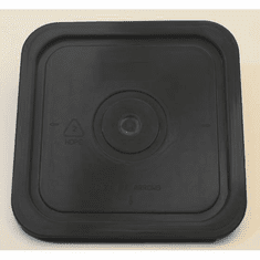 "Black Lid for Square 4 Gallon Plastic Bucket,no Gasket,18 Pack<br><font color=""#FF0000"">Free Shipping</font>"