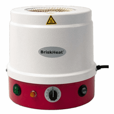 """Briskheat &#174;   HM Metal Housed Heating Mantles with Built In Controllers 