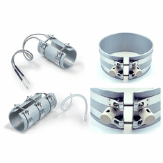 """Band & Nozzle Heaters    High-Temperature Heaters for Cylindrical Surfaces<br><font color=""""#008000"""" >Free Shipping</font>"""
