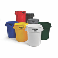 BRUTE Round Containers 32 Gallon