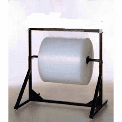 """Bubble and Foam Wrap Storage Single roll stand without cutter 64"""""""