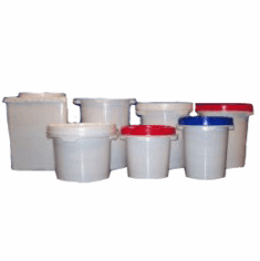 LifeLatch Screw Top Food Grade Plastic Buckets