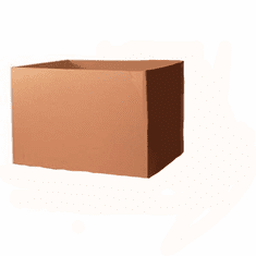 "Bulk Cardboard Corrugated Cargo Boxes 48"" X 40"" X 36"", 50 Count,  GayLord Regular Duty"