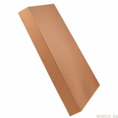 "Bulk Cardboard Corrugated Cargo Boxes 8"" X 40"" X 5"", 50 Count, GayLord Regular Duty"