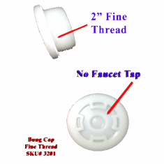 "Bung Caps 2""  Fine Thread <strong><font color=""#FF0000""> As Low As $1.88</font></strong>"