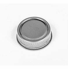 Cap Steel Screw Cap | DELTA| 1 1/4 Inch with Foil Liner | 100 Pack CLEARANCE