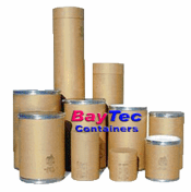 Corrugated Cardboard Drums & Fiber Shipping Barrels
