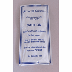 Citric Acid Crystals - 2 oz Packet | Used for Activating Purogene Water Treatment for System Sanitation <br> <font color=green>Free Shipping With Purogene Pruchase</font>