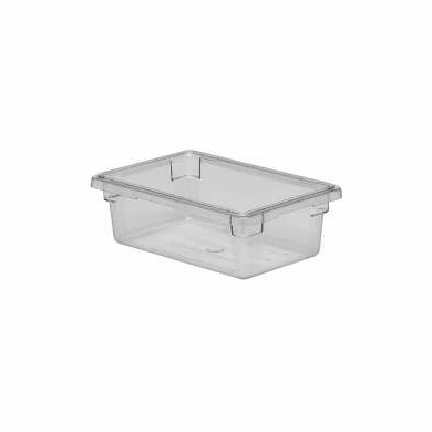 "Clear  Polycarb 18"" x 12"" x 6""  3.5 gal. Rubbermaid Food Boxes"