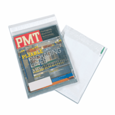 "Clear View Poly Mailers 12 1/2"" x 18 1/2"" 100 Case Qty"