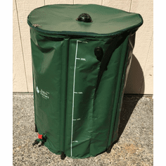 Collapsible Rain Barrel - Aguatainer 26 Gallon