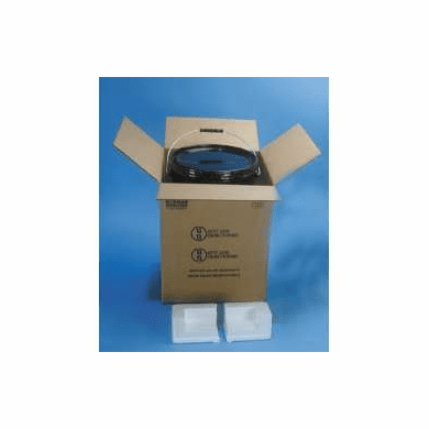 Corrugated Cardboard Hazmat UN 4G Packaging for 5 Gallon Steel Pails
