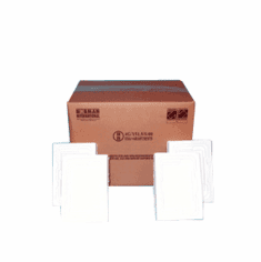 Corrugated Cardboard Hazmat UN 4G Packaging with Foam for F-Style Cans 2-1 gallon