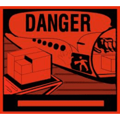 Danger 4 5/16 x 4 3/4-500 Pack