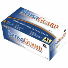 Disposable Latex Gloves Medium  100 Pack