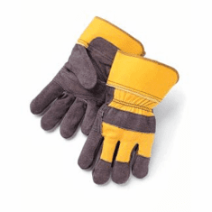 Double Leather Palm Work Gloves