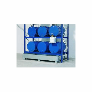 Drum Containment Rack Systems,82 Gal Sump