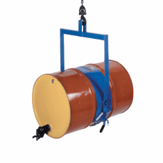Drum Dumper for 55 gal. Steel Drums-accepts diameter adapters