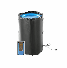Drum Heater Blanket wtih Adjustable Thermostatic Controller | 30 Gallon