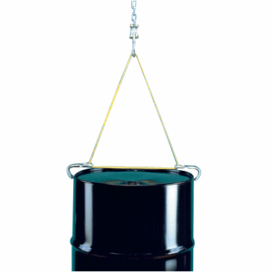 Drum Lifting Sling for Closed-Head Steel Drums