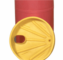 Drum Pump Funnel Catches Drips and Spills