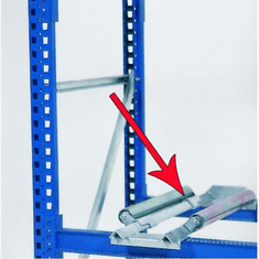 Drum roller assembly For  Drum Containment Rack