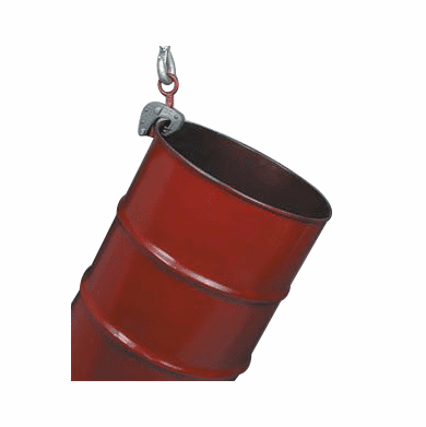 Dual Clamp Chain Lifter - Handle Drums With or Without Tops