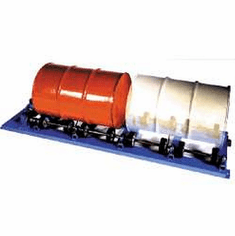 Dual Drum, Fixed Speed, Air - Heavy-Duty Drum Rotator