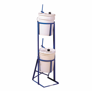 Dual Pail Tipping Stand