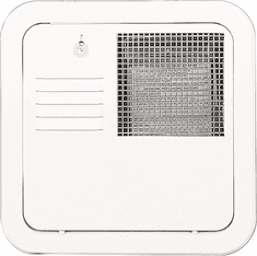 """Suburban 6259APW Replacement Hot Water Heater Door 10,12 Or 16 Gallon Flush Mount- Polar White<font color=""""Red""""> Free Shipping</font>"""