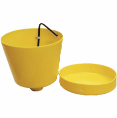 E-Z Smart 2 Gallon Drum Funnel  |  prevents overfilling | Two Pack