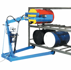 Electric Lift/Manual Tilt Omni-Lift Karrier Multi-Purpose Drum Handler