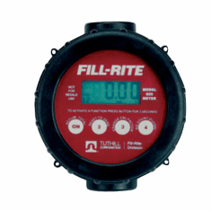 Electronic Digital Flowmeter Handles Most Liquids