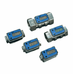 Electronic Digital Flowmeters