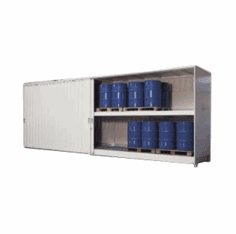 Enclosed Drum Storage Units