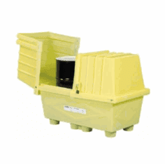 Enpac Safe, Secure Storage for Two Drums