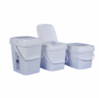 EZStor� Square Plastic Food Storage Containers